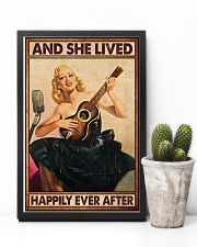Guitar And she lived happily ever after Poster 11x17 Poster lifestyle-poster-8