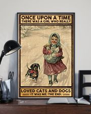 Dogs Once upon a time poster 11x17 Poster lifestyle-poster-2