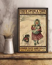 Dogs Once upon a time poster 11x17 Poster lifestyle-poster-3