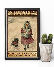 Dogs Once upon a time poster 11x17 Poster lifestyle-poster-8