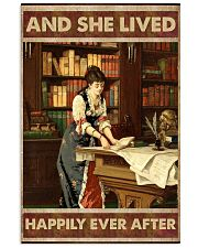 She lived happily books Poster 11x17 Poster front