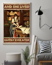 She lived happily books Poster 11x17 Poster lifestyle-poster-1