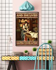 She lived happily books Poster 11x17 Poster lifestyle-poster-6