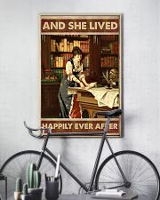 She lived happily books Poster 11x17 Poster lifestyle-poster-7