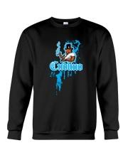 Cudlino Splattered Paint Logo Collection Crewneck Sweatshirt thumbnail
