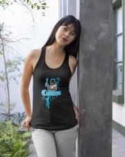 Cudlino Splattered Paint Logo Collection Ladies Flowy Tank apparel-ladies-flowy-tank-lifestyle-front-25