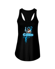 Cudlino Splattered Paint Logo Collection Ladies Flowy Tank thumbnail