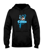 Cudlino Splattered Paint Logo Collection Hooded Sweatshirt thumbnail