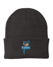 Cudlino Splattered Paint Logo Collection Knit Beanie thumbnail