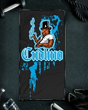 Cudlino Splattered Paint Logo Collection Hand Towel aos-towelhands-front-lifestyle-01