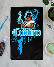 Cudlino Splattered Paint Logo Collection Hand Towel aos-towelhands-front-lifestyle-02