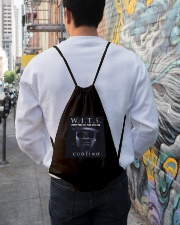 Written In The Stars Album Collection Drawstring Bag lifestyle-drawstringbag-front-1