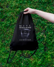 Written In The Stars Album Collection Drawstring Bag lifestyle-drawstringbag-front-3