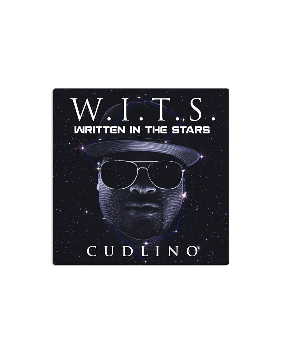 Written In The Stars Album Collection Square Magnet