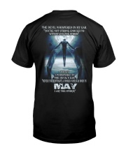 DEVIL WHISPERED MAY  Classic T-Shirt back