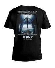 DEVIL WHISPERED MAY  V-Neck T-Shirt thumbnail