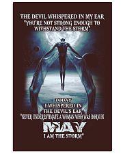 DEVIL WHISPERED MAY  11x17 Poster thumbnail
