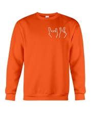 DT CREWNECK-Dolan Twins-Orange Crewneck Sweatshirt thumbnail