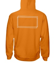 DT CREWNECK-Dolan Twins-Orange Hooded Sweatshirt back
