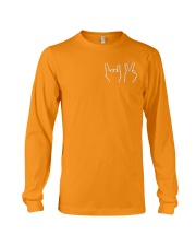 DT CREWNECK-Dolan Twins-Orange Long Sleeve Tee thumbnail