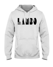 Lambo Official T-Shirt Hooded Sweatshirt front