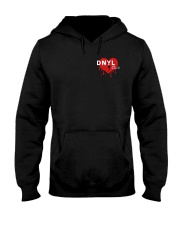 dont need your love merch Hooded Sweatshirt front