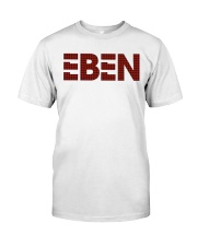 EBEN Plaid Unisex Tee  Classic T-Shirt front