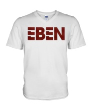 EBEN Plaid Unisex Tee  V-Neck T-Shirt thumbnail