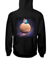Newest merch  Hooded Sweatshirt back