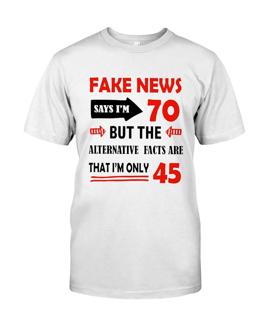 70 Year Old Birthday Gift Fake News