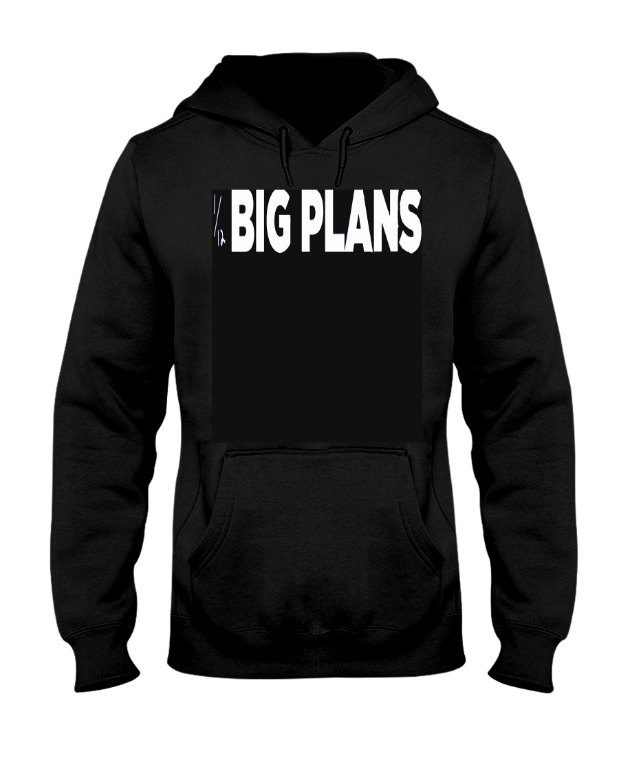 why don't we-big plans merch  Hooded Sweatshirt