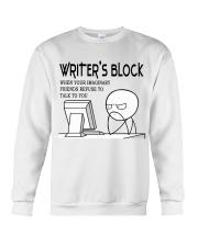 Writer's block - I'm a Writer Crewneck Sweatshirt thumbnail
