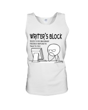 Writer's block - I'm a Writer Unisex Tank thumbnail