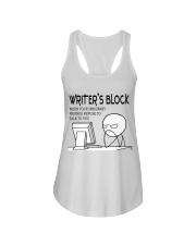 Writer's block - I'm a Writer Ladies Flowy Tank thumbnail