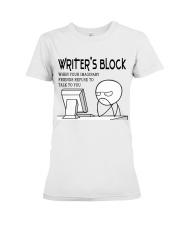 Writer's block - I'm a Writer Premium Fit Ladies Tee thumbnail