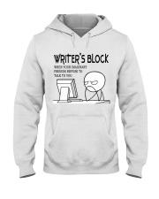 Writer's block - I'm a Writer Hooded Sweatshirt thumbnail