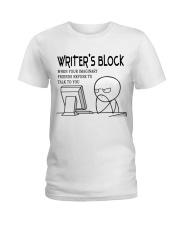 Writer's block - I'm a Writer Ladies T-Shirt front
