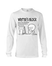 Writer's block - I'm a Writer Long Sleeve Tee thumbnail