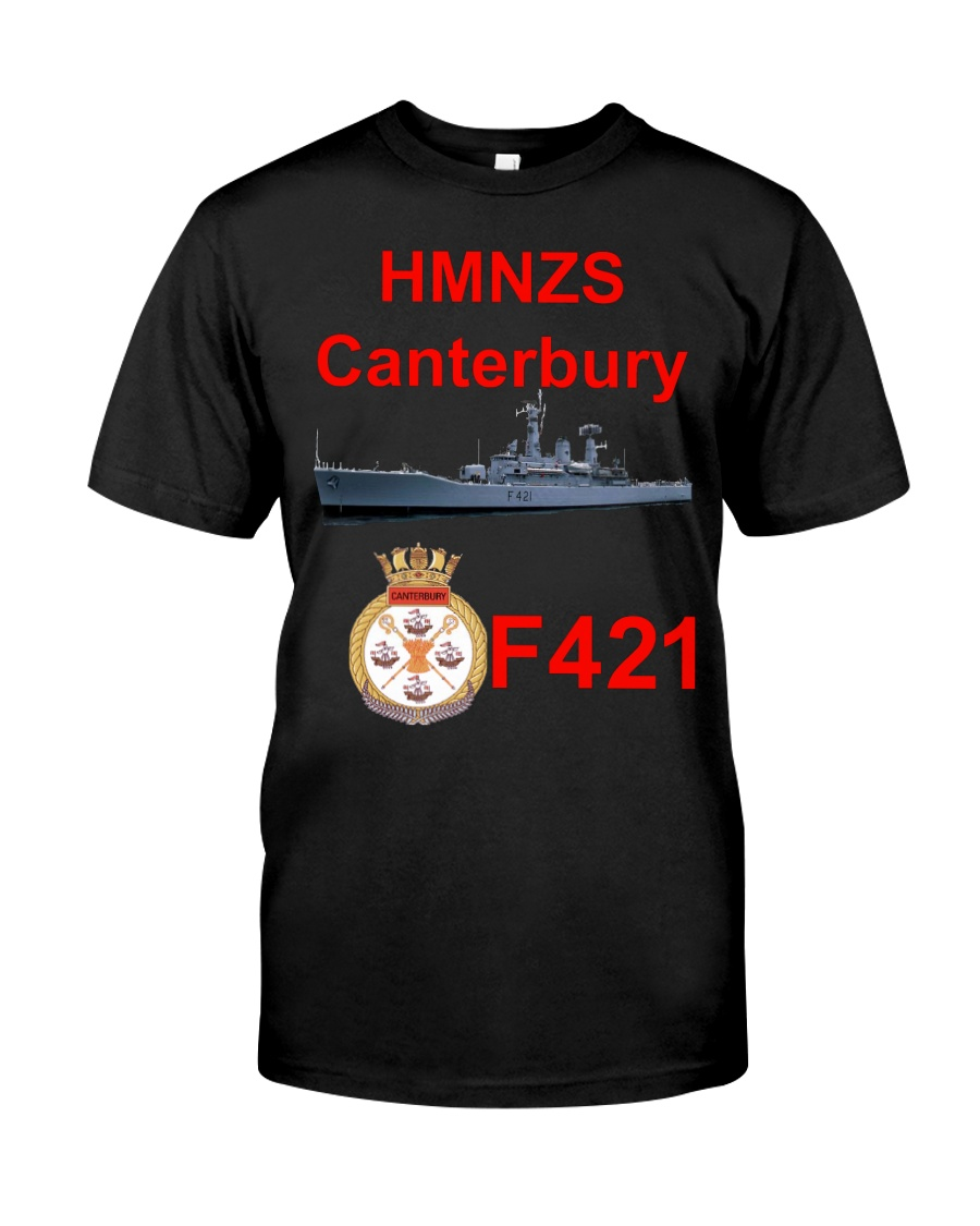 RNZN Canterbury f421 Classic T-Shirt