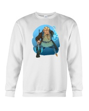 rusty quill merch Crewneck Sweatshirt front