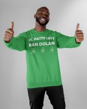 Knicks ban dolan shirt Crewneck Sweatshirt apparel-crewneck-sweatshirt-lifestyle-front-05