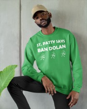 Knicks ban dolan shirt Crewneck Sweatshirt apparel-crewneck-sweatshirt-lifestyle-front-08