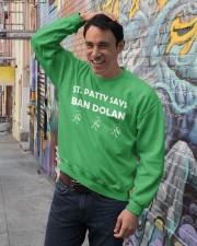 Knicks ban dolan shirt Crewneck Sweatshirt lifestyle-unisex-sweatshirt-front-4