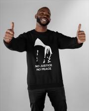 no justice no peace tarot merch Crewneck Sweatshirt apparel-crewneck-sweatshirt-lifestyle-front-05
