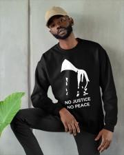 no justice no peace tarot merch Crewneck Sweatshirt apparel-crewneck-sweatshirt-lifestyle-front-08