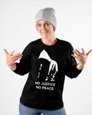 no justice no peace tarot merch Crewneck Sweatshirt apparel-crewneck-sweatshirt-lifestyle-front-35