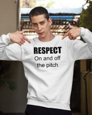 respect on and off the pitch merch Crewneck Sweatshirt apparel-crewneck-sweatshirt-lifestyle-04