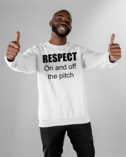 respect on and off the pitch merch Crewneck Sweatshirt apparel-crewneck-sweatshirt-lifestyle-front-05