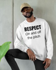 respect on and off the pitch merch Crewneck Sweatshirt apparel-crewneck-sweatshirt-lifestyle-front-08