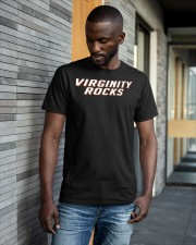 virginity rocks shirt Classic T-Shirt apparel-classic-tshirt-lifestyle-front-41-b